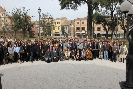 Photo of the group in Cesena
